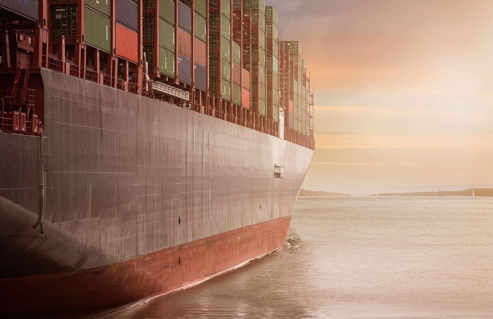 Cargo Container Background Blog
