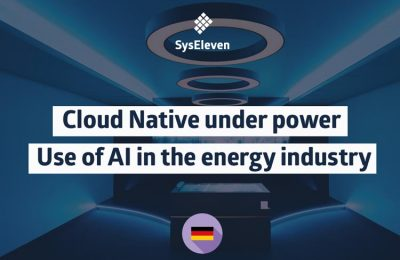 SysEleven Webinar cloud native under power