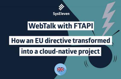 SysEleven Webinars FTAPI graphics